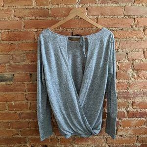 New: Wrap Back Victoria's Secret Top